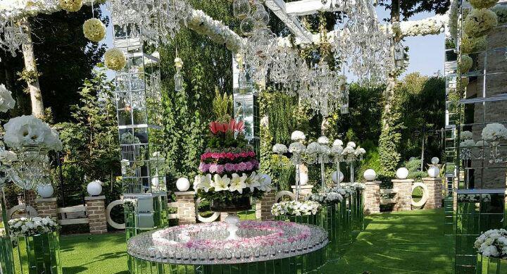 باغ عروسی گل آرایی