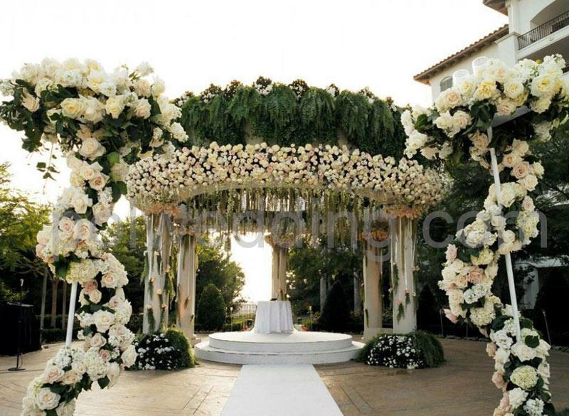 تشریفات عروسی در باغ