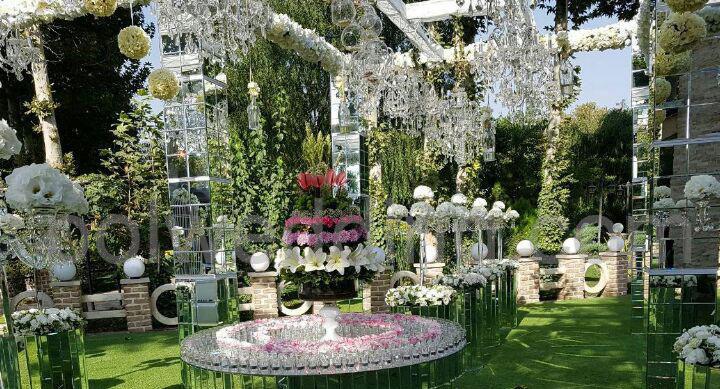 نحوه انتخاب و اجاره باغ عروسی