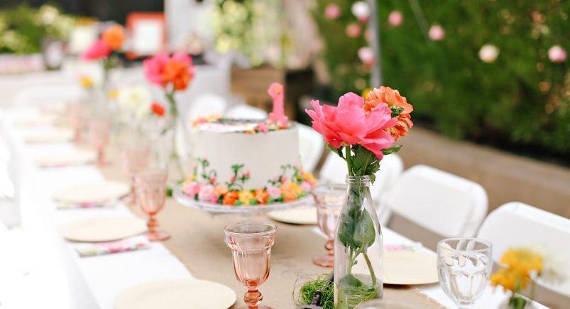 برگزاری جشن تولد در باغ
