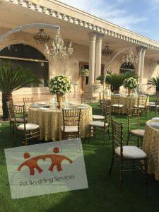خدمات تشریفات در اجاره باغ عروسی لواسان