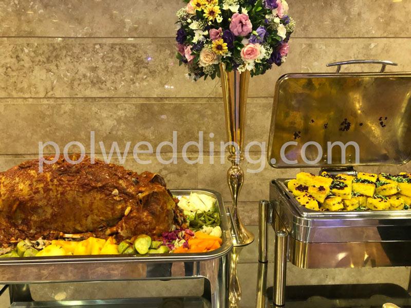 انتخاب کترینگ غذا و تاثیر آن بر قیمت تشریفات عروسی