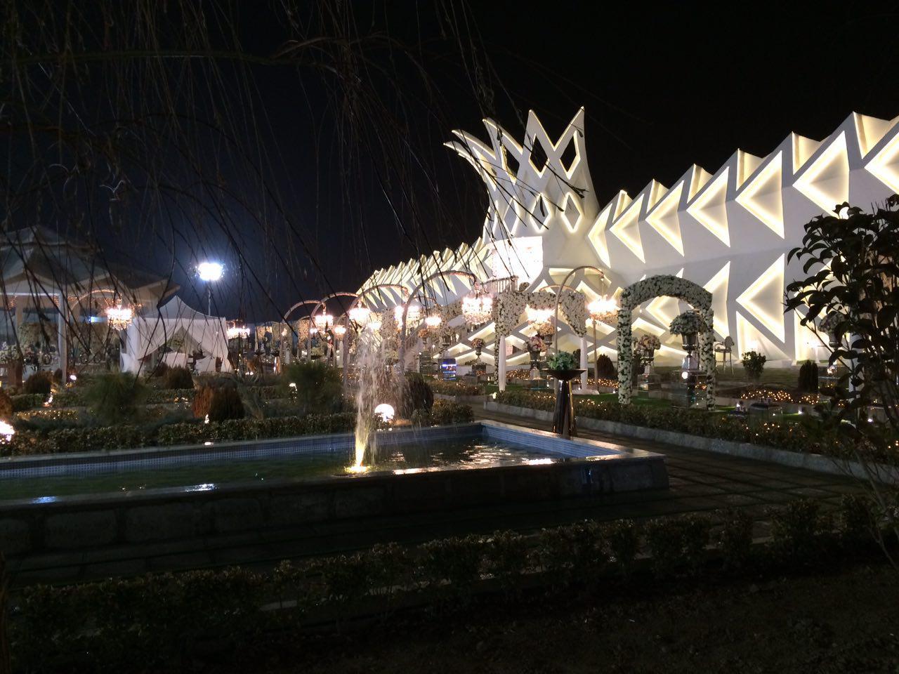 خدمات تشریفات پل در باغ تاج