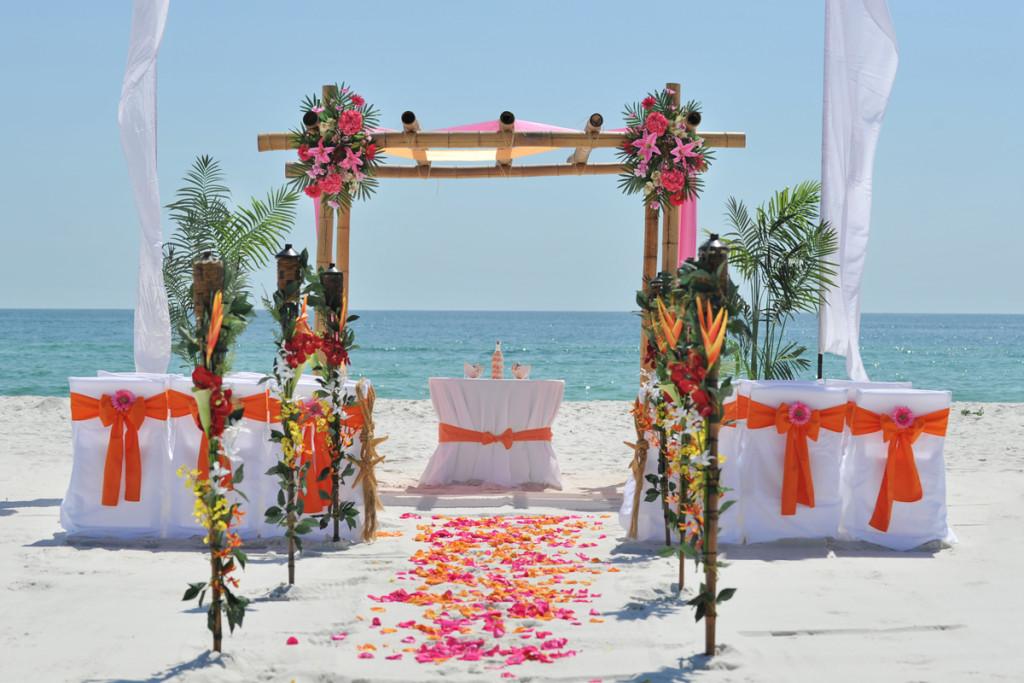 برگزاری مراسم فرمالیته تشریفات عروسی لب دریا