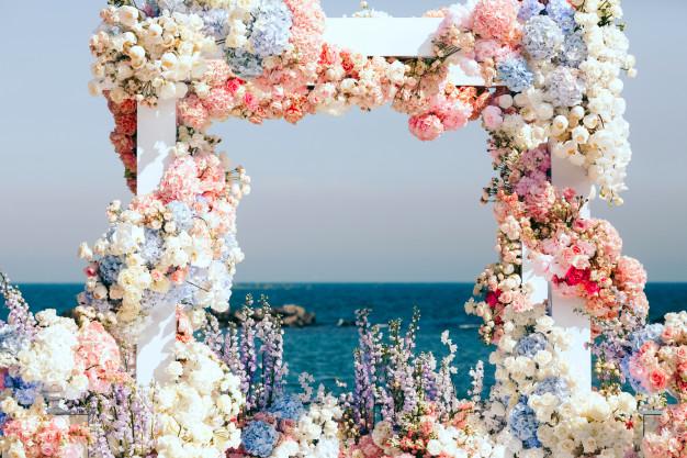 خدمات تشریفات عروسی لب دریا