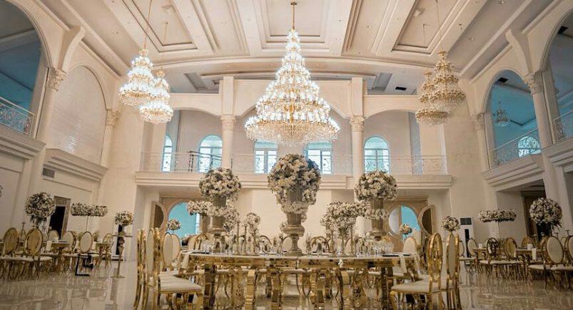 مجلل ترین باغ تالار عروسی تهران
