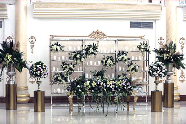 خدمات باغ تالار عروسی