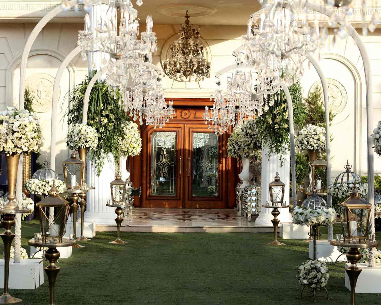مجلل ترین باغ تالار عروسی تهرانباغ عروسی والا