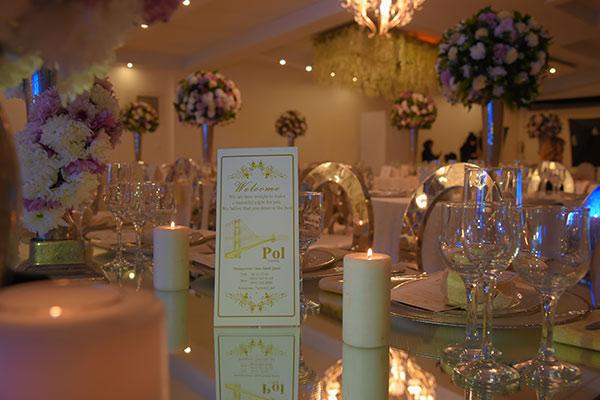 برگزاری مراسم در باغ تالار عروسی