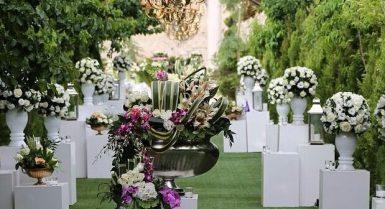 بهترین باغ عروسی