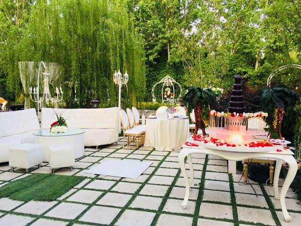 هزینه باغ تالار عروسی لواسان