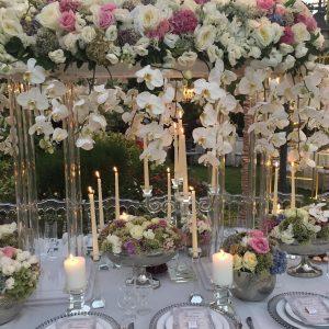 خدمات گل آرایی در مراسم بله برون
