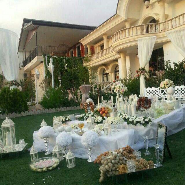 برگزاری مراسم عقد در باغ