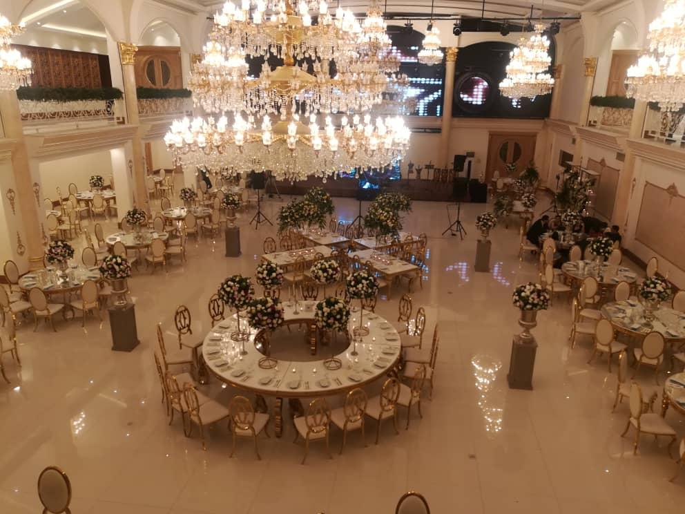 خدمات سالن عقد با پذیرایی شام