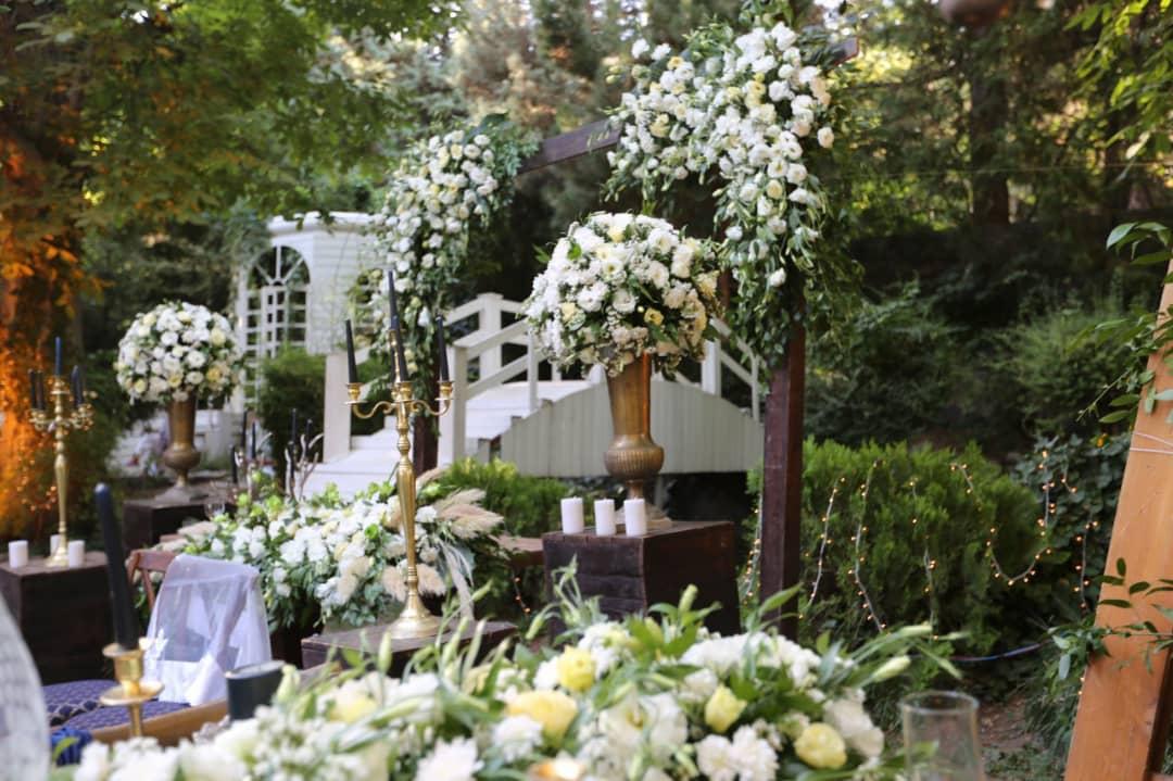 خدمات پذیرایی و تشریفات در عروسی