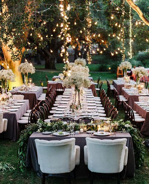 باغ شخصی برای عروسی