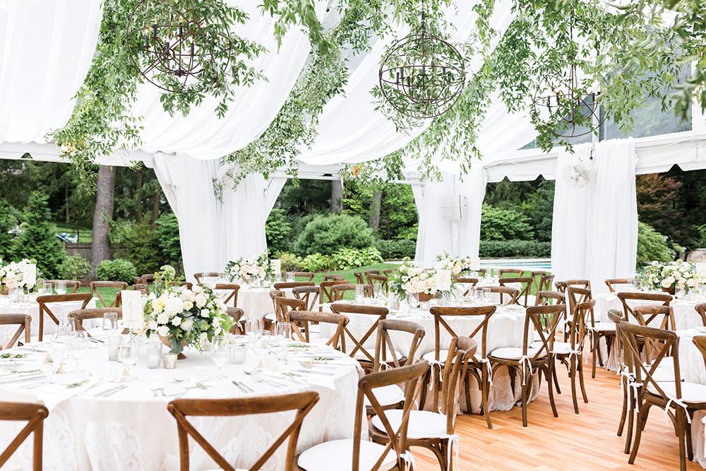 خدمات تالار عروسی نیاوران فضای باز