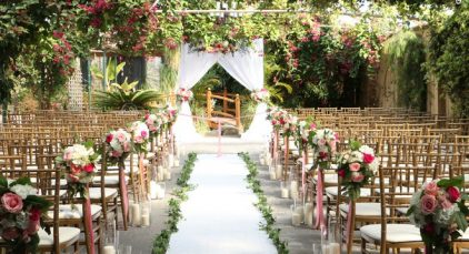 مزیت برگزاری مراسم عقد و نامزدی در باغ عقد