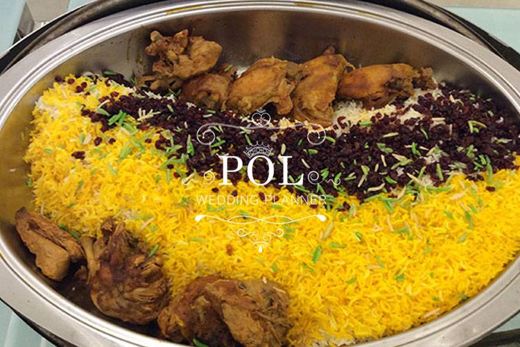 ملاک انتخاب تالار عروسی بر اساس نوع غذا