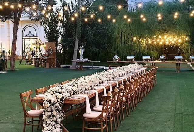 باغ عروسی روژانو