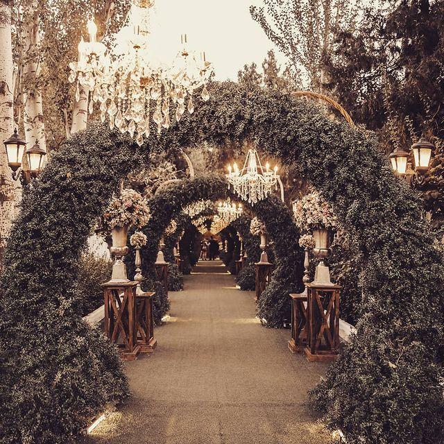 خدمات تشریفات پل در باغ عروسی روژانو